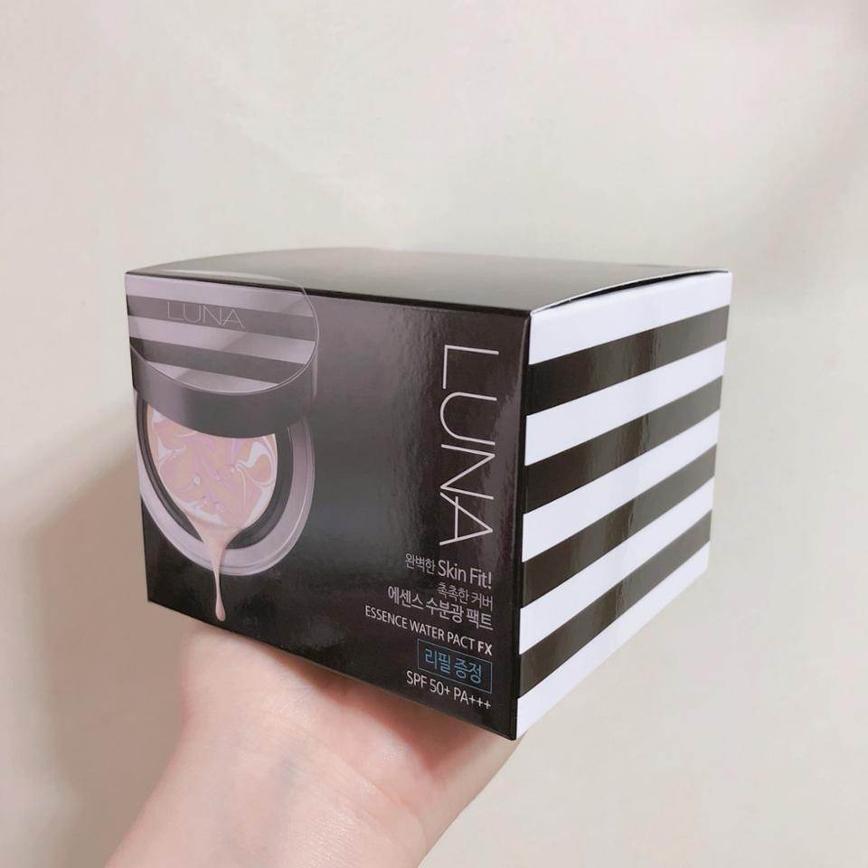 드디어 왔다 !! 루나 ㅠㅠ 포장돼있는 박스가 너무 예뻐요ㅠㅠㅠ 줄무늬 🖤🖤