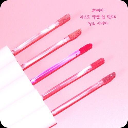 전 컬러 모두 너무 예쁜 핑크 시네마 💖  은은하고 여리여리한 느낌의 무드가 느껴지는 컬러부터 쨍한 컬러로 얼굴을 화사하게 밝혀주는 핑크 컬러까지 다양하게 ✨✨