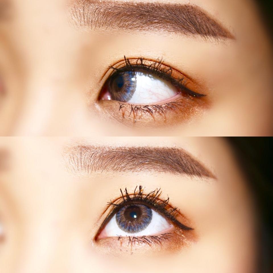 [훌라 테스트]  요컬러도 카메라 상으로는 아주 살짝 ! 훌라가 있는것 처럼 보이지만 ! 실제로 보면 인식도 못할만큼 편하고 훌라가 안느껴 진답니다 ! 정말 요 렌즈는 제 인생렌즈에요 ㅠㅠ❤❤