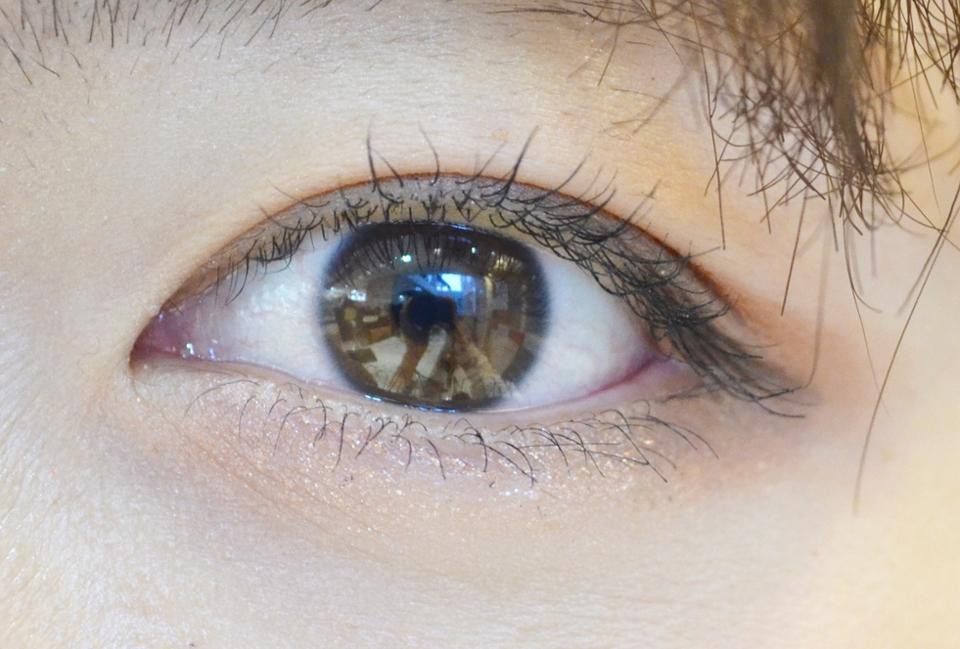 착용전 너의 눈입니다~!