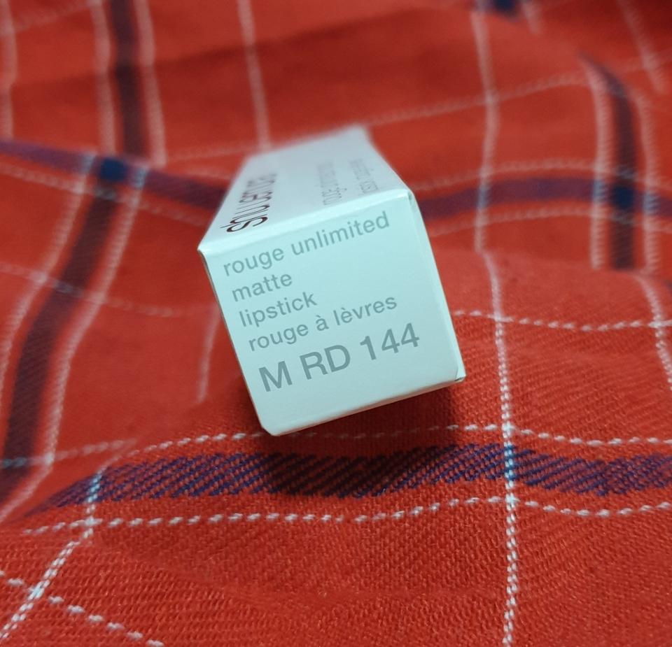 저는 마뜨라인 레드144를 구매했어요 유명한 컬러죠잉~