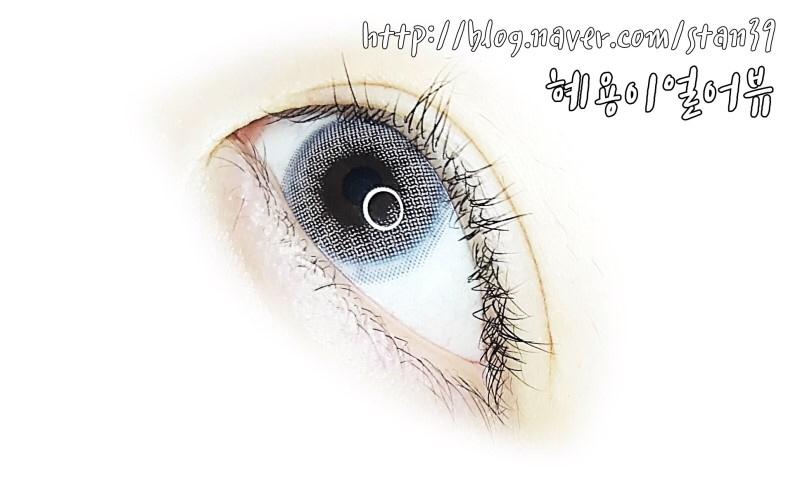 정말 쓰리컬러렌즈인데, 도트가 주 그래픽인 것 같가기도 하고, 혼혈렌즈 처럼 아웃라인이 투명하고... 오묘오묘st 한 오렌즈 신상, 이에요! (๑・̑◡・̑๑)