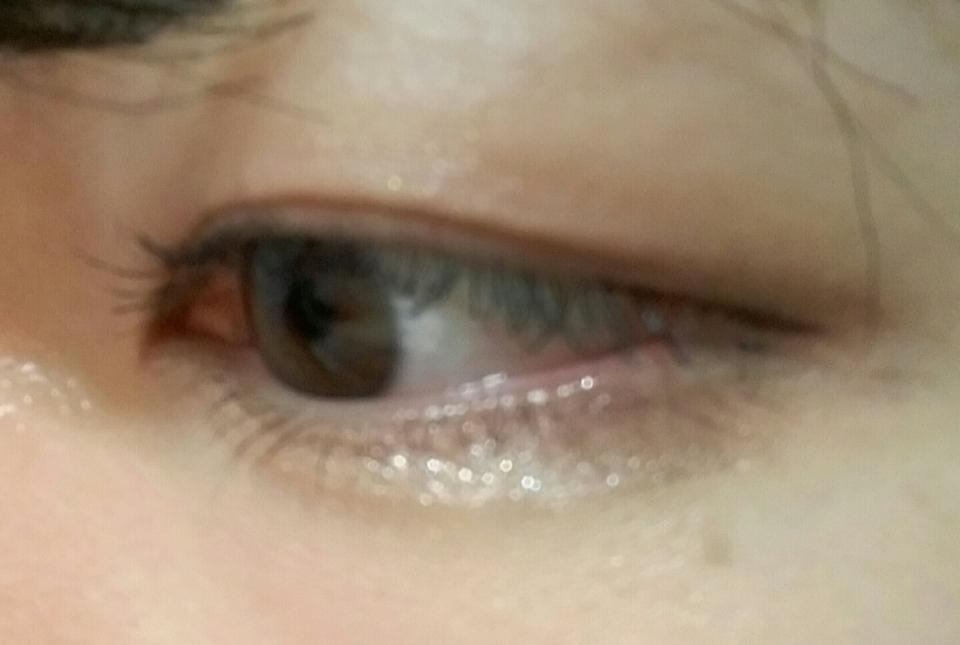 마스카라, 펄섀도우, 아이라인 을 모두 한 눈화장을 지워봤어요