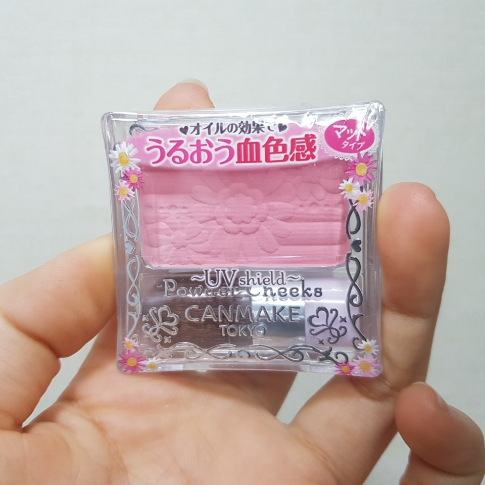 일본에서 건너온 캔메이크 블러셔 제품