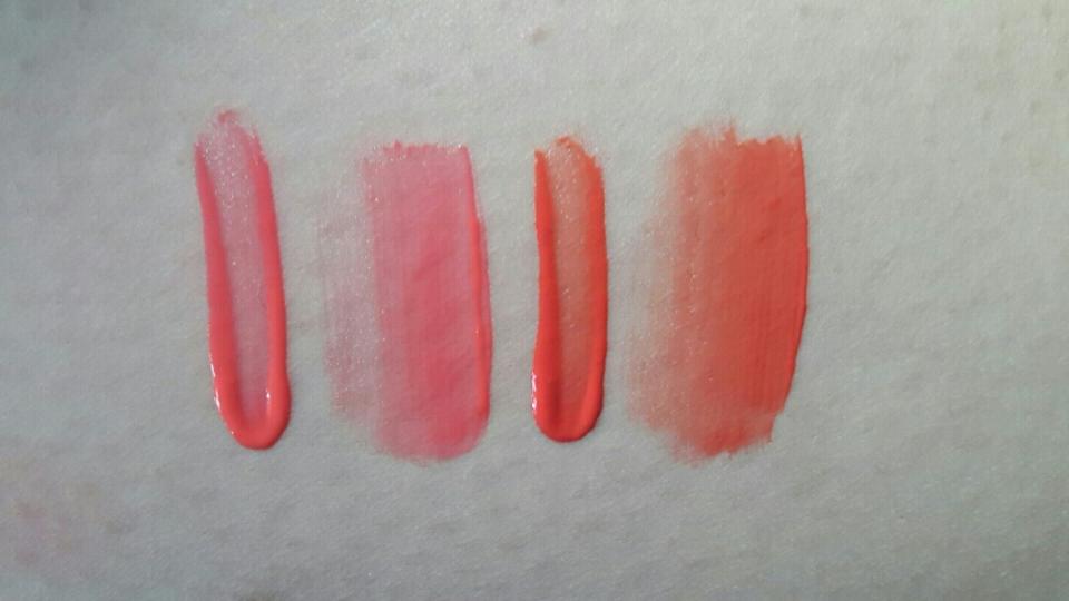 왼쪽은 OR01 오렌지씬 오른쪽은 OR02 오렌지썸이에요.