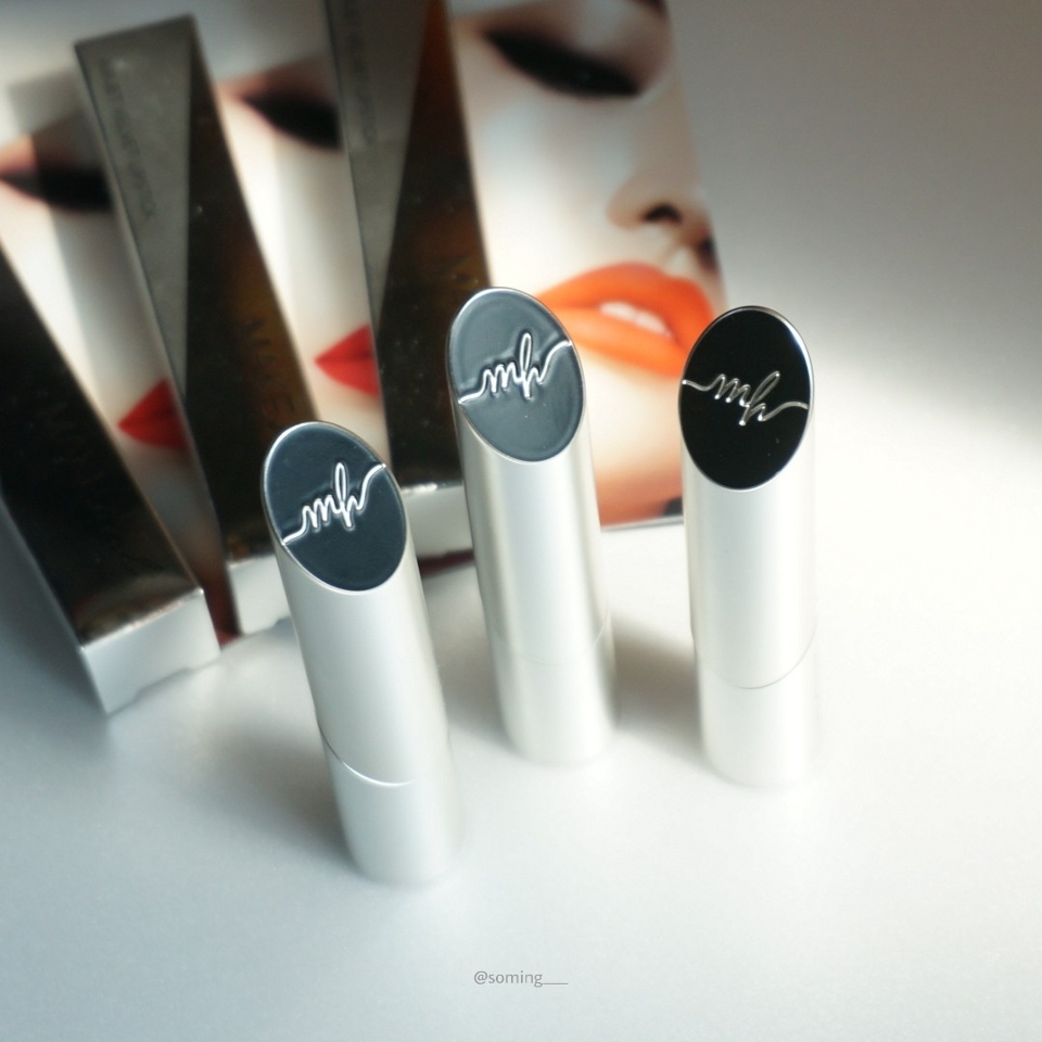 안녕하세요! 메이크힐의 봄에 어울리는 컬러 립스틱 3종 리뷰를 가져왔어요.  개인적으로 메이크힐의 사선으로 컷팅된 패키지 너무 취저랍니다!