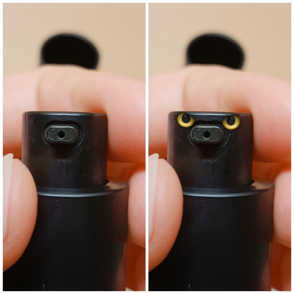 생각보다 나오는 구멍이 작죠? 그리고 귀여운 오리 같지 않나요!!??ㅋㅋㅋㅋㄱㅋ