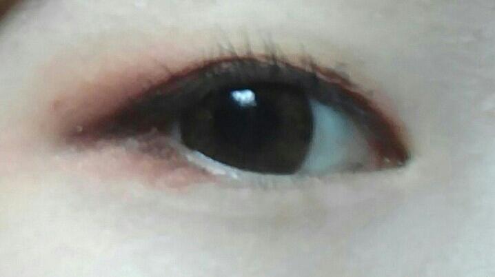 이렇게 메이꾸업이 완성되었는데요 저는 완전 맘에드는 눈화장을 찾은거같아요😄
