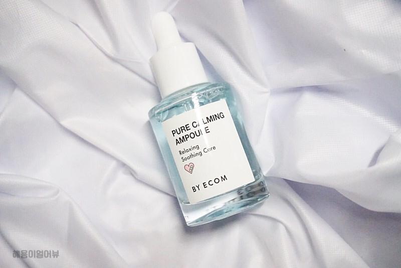 패키징 너무 예뻐서 자꾸 보여드리게되네용,, 푸르른 패키징 ,, ♥  Relaxing Soothing Care - BY ECOM