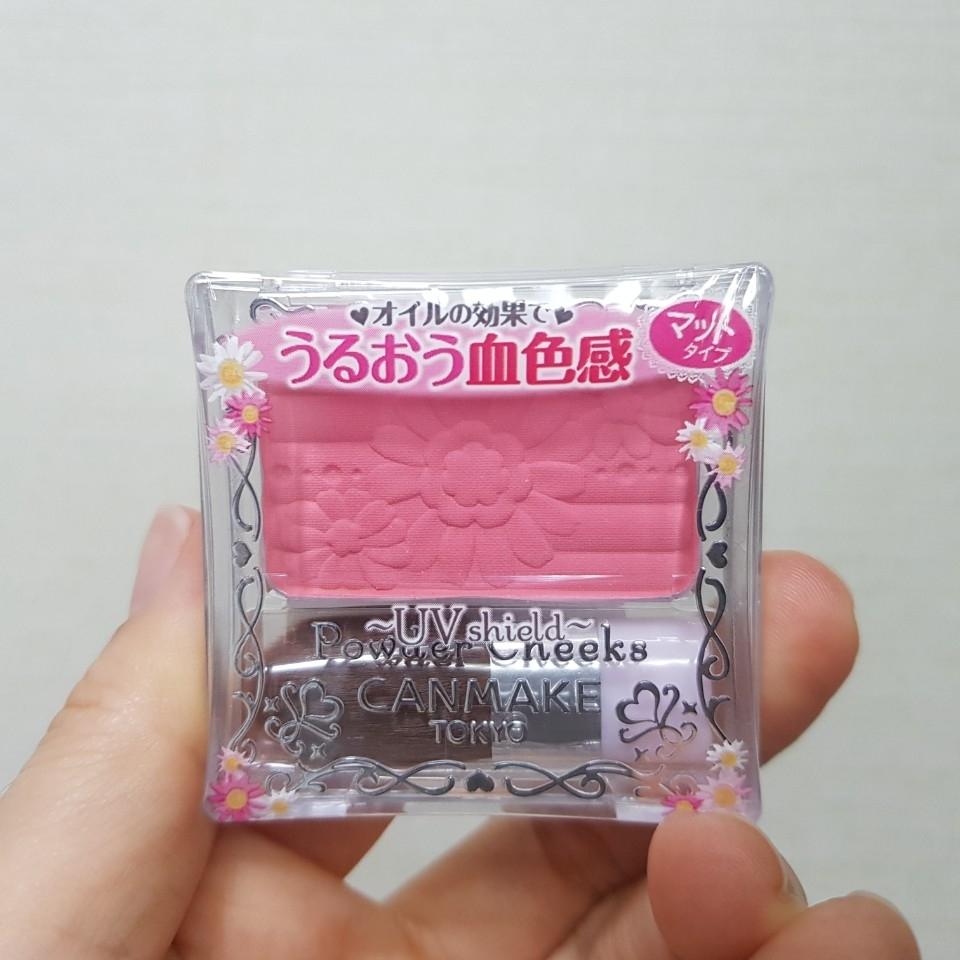 일본에서 건너온 캔메이크 블러셔 제품들중에