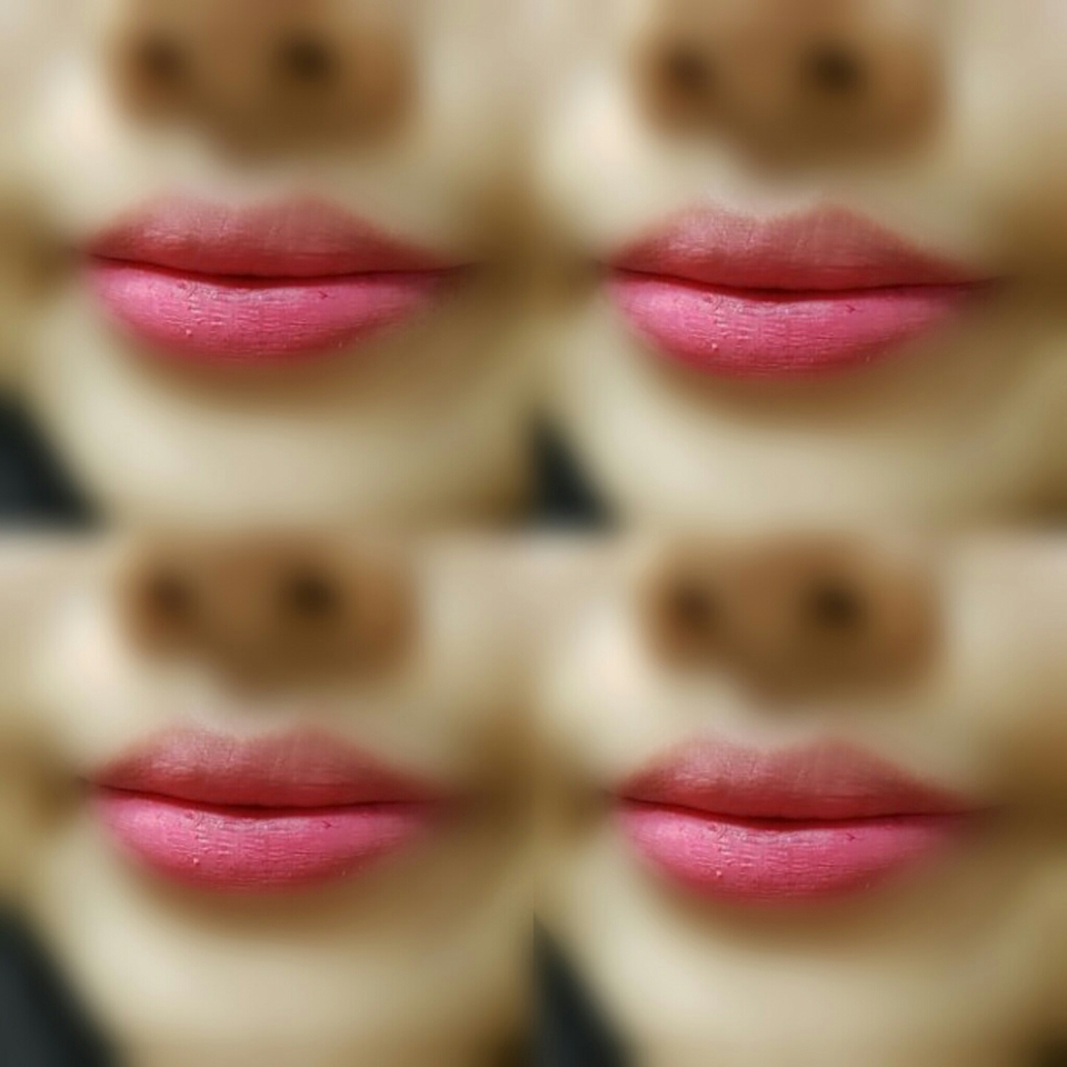 입술발색입니다.
