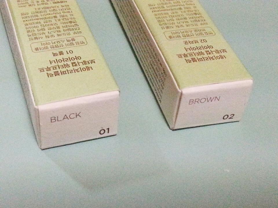 브라운만 쓰다가 확실히 블랙이 눈이 뚜렸해보여서 이번엔 둘다 샀습니다!