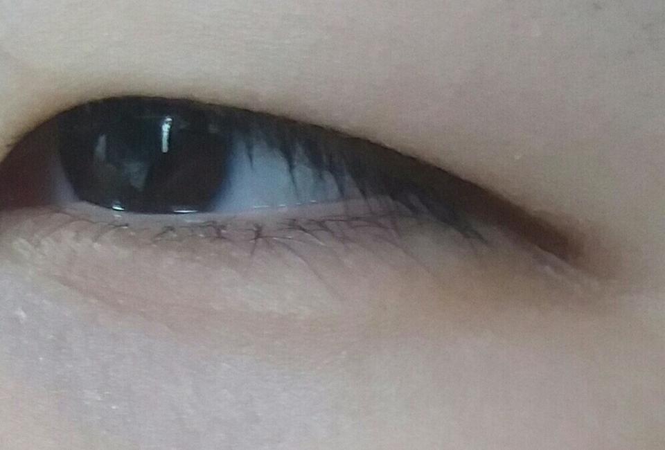 눈에 그렷을때에용