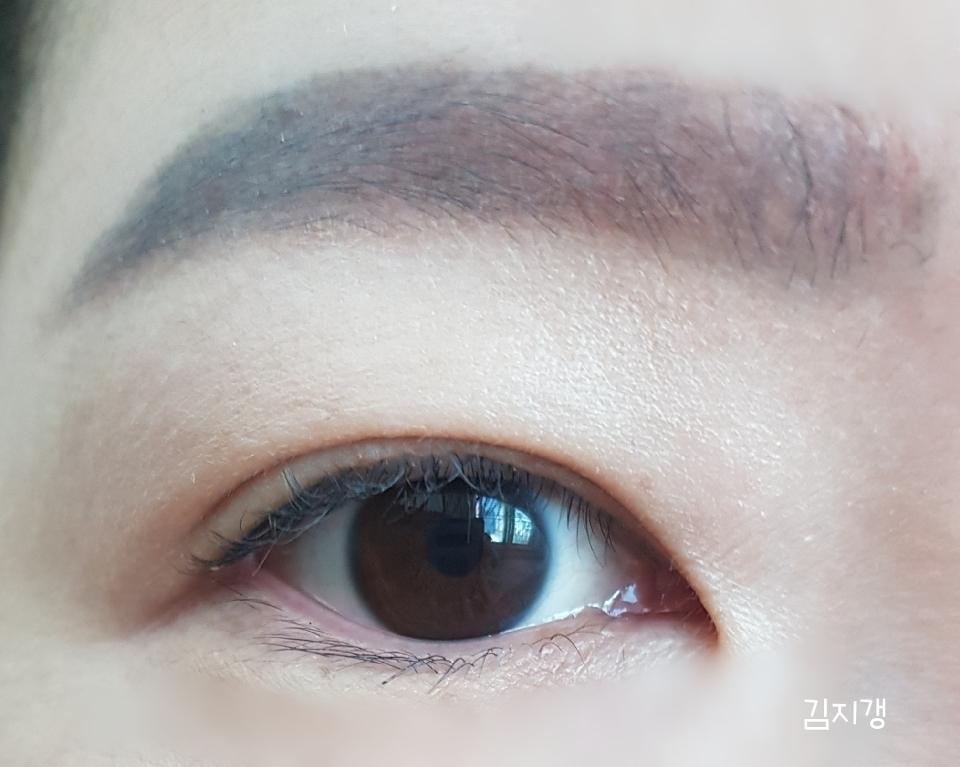 착용전 눈입니다~