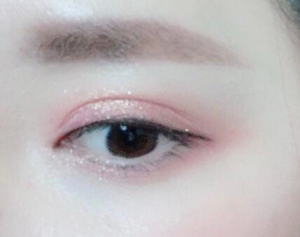 핑크랑 브라운이 만나 살짝 오렌지 빛이 도네용 :)