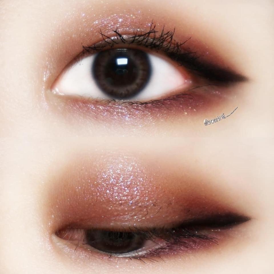 순정파요조숙녀를 베이스로 미스터리명화를 삼각존 + 아이라인 블랜딩  완성♡