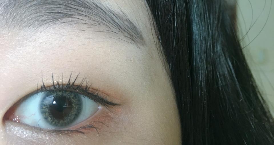 예쁘죠 💧💧 눈에 착용하면 노란색이 막 튀지도않고 잘어울려요 세상예뻐요 지구뿌셔💨