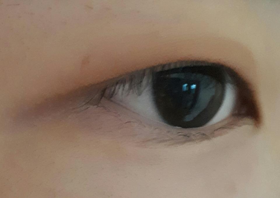 눈 떳을때