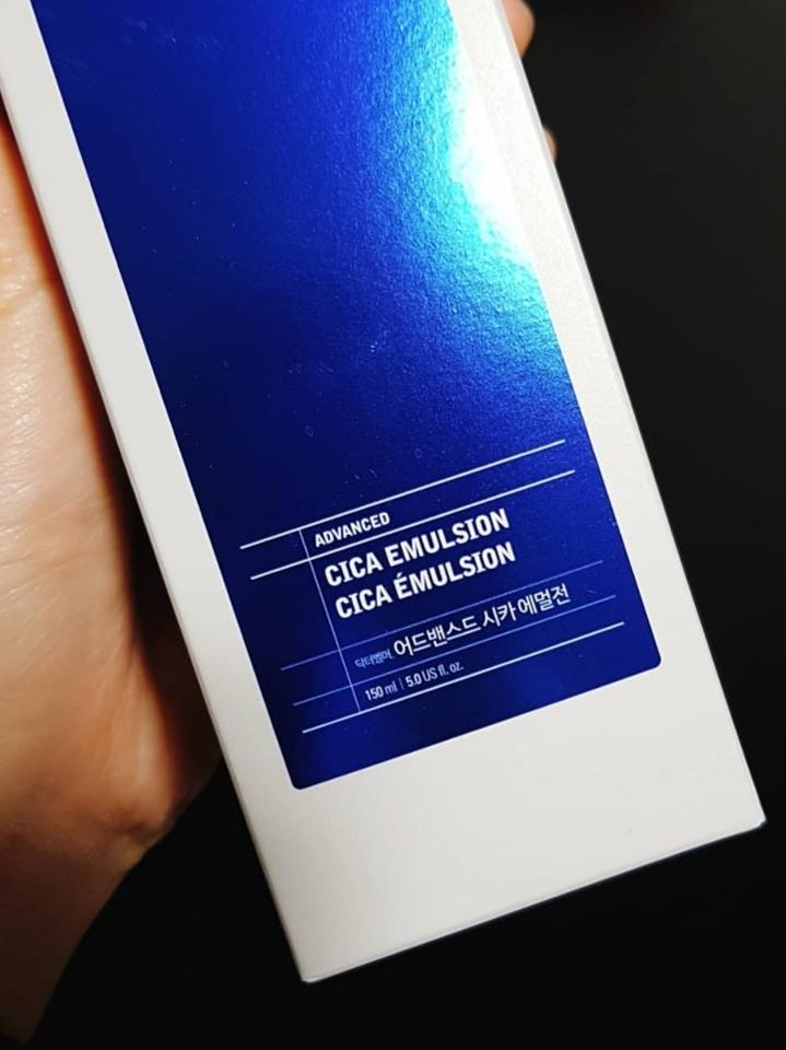 파란색 순하고 편안한 느낌의 패키지가 깔끔하니 인상적이에요!