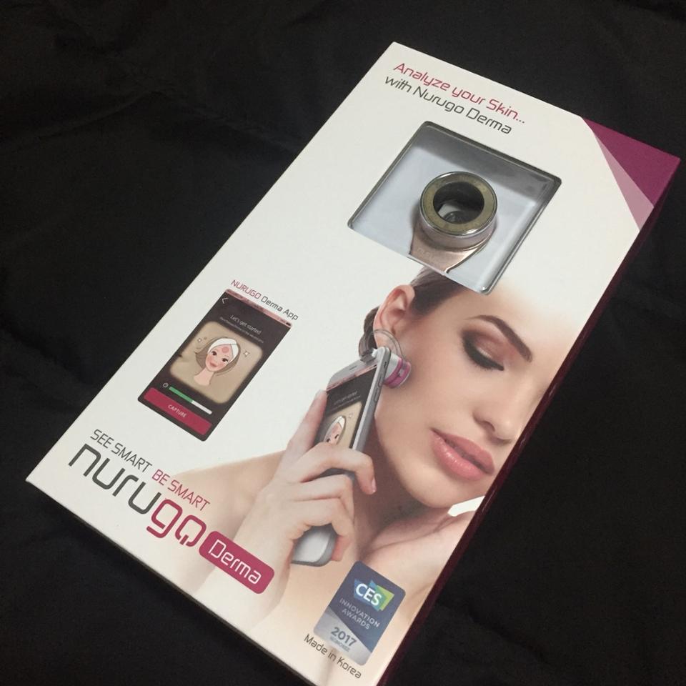 이런 상자에 와요 표지에있는 사진처럼 부위를찍어 날마다 피부를 관리할수있게 도와줘요!