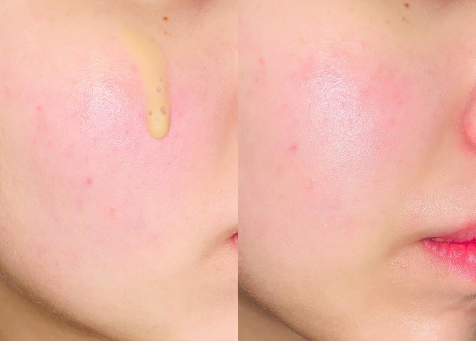 피부에 발랐을때 확실히 촉촉해지고, 광도 나고, 피부가 편안해지는 느낌이 들더라구요.