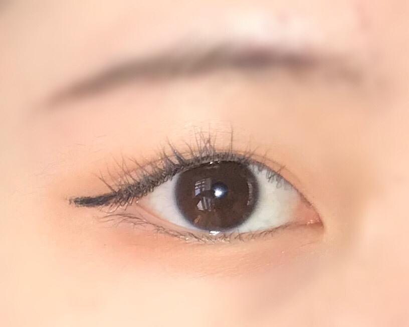 마스카라 전의 제 눈입니다 !!