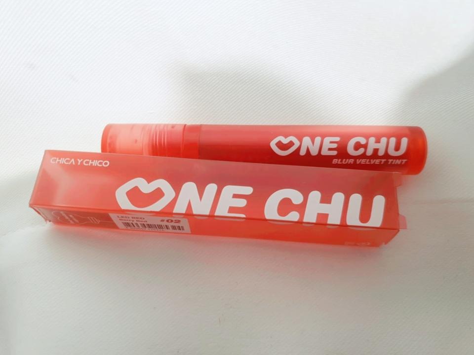 치카이치코 원츄블러벨벳틴트! 넘 만족스러웠습니다😖  레드립+벨벳립 좋아하신다면 마구마구 추천합니다❤