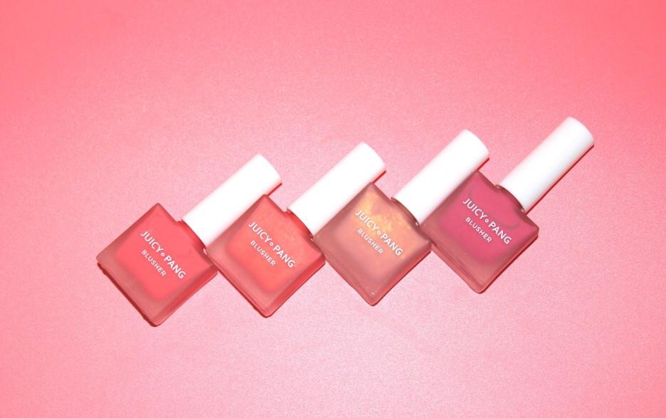 어퓨 과즙팡 워터 블러셔 핑크 컬러 💖