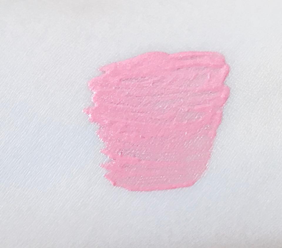 색상은 위 사진보다는 좀 더 웜한 느낌의 핑크색상예요 말그대로 피치색상입니다 너무너무 이뻐요...흑흑