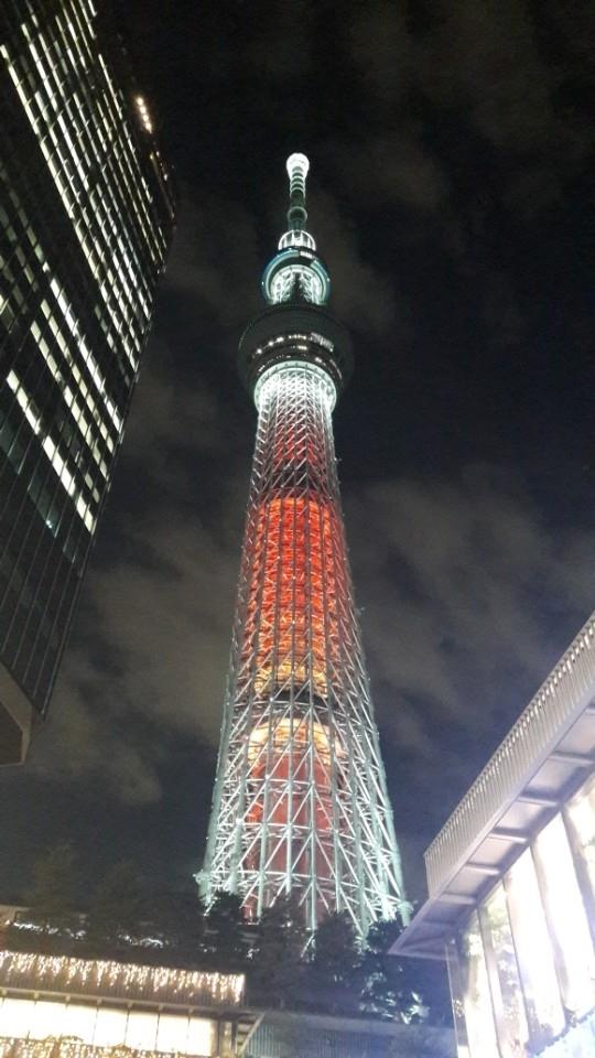 도쿄타워입니다.