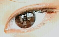 데일리 눈화장 입니다!! 렌즈는 거의 안 끼고 마스카라도 안하고 마르살라 레드 칠하고 뷰러하고 아주 얇게 펜슬아라 그리면 데일리 눈화장☆