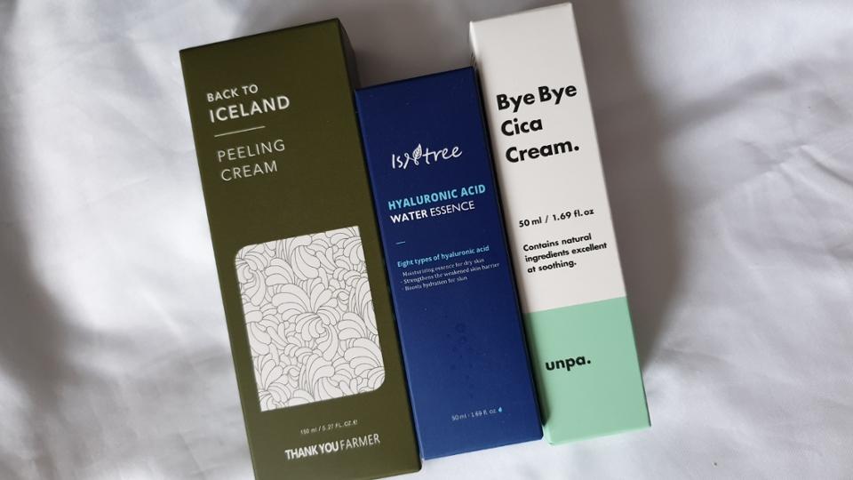 두번째는 땡큐파머 아이슬란드이끼가 포함된 자연적인 느낌의 필링제품